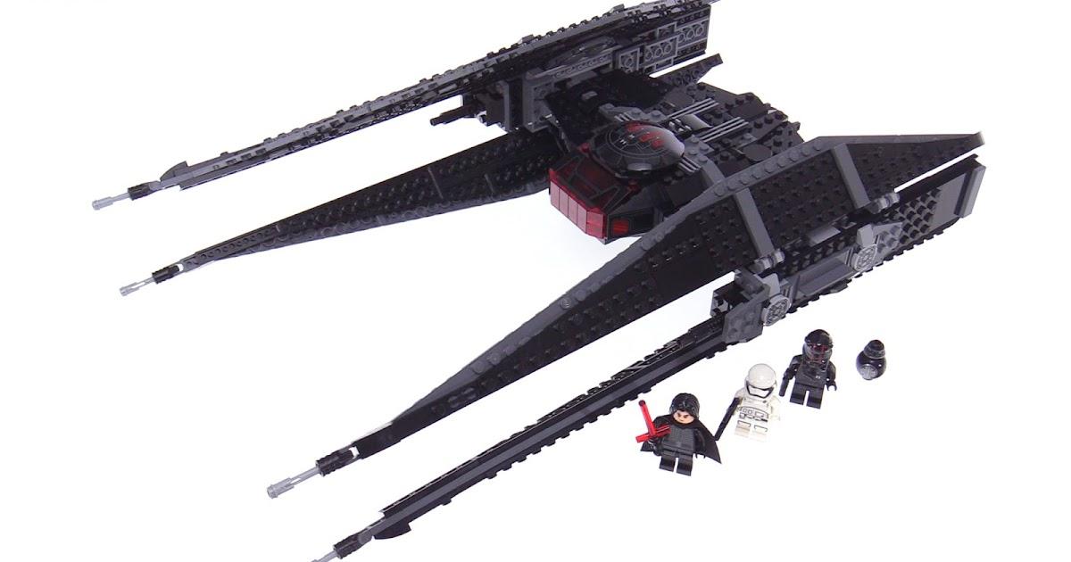 Lego Star Wars The Last Jedi Kylo Ren S Tie Fighter Review
