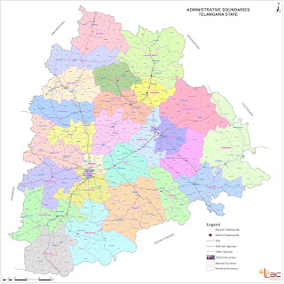 List of Old and New Telangana Districts