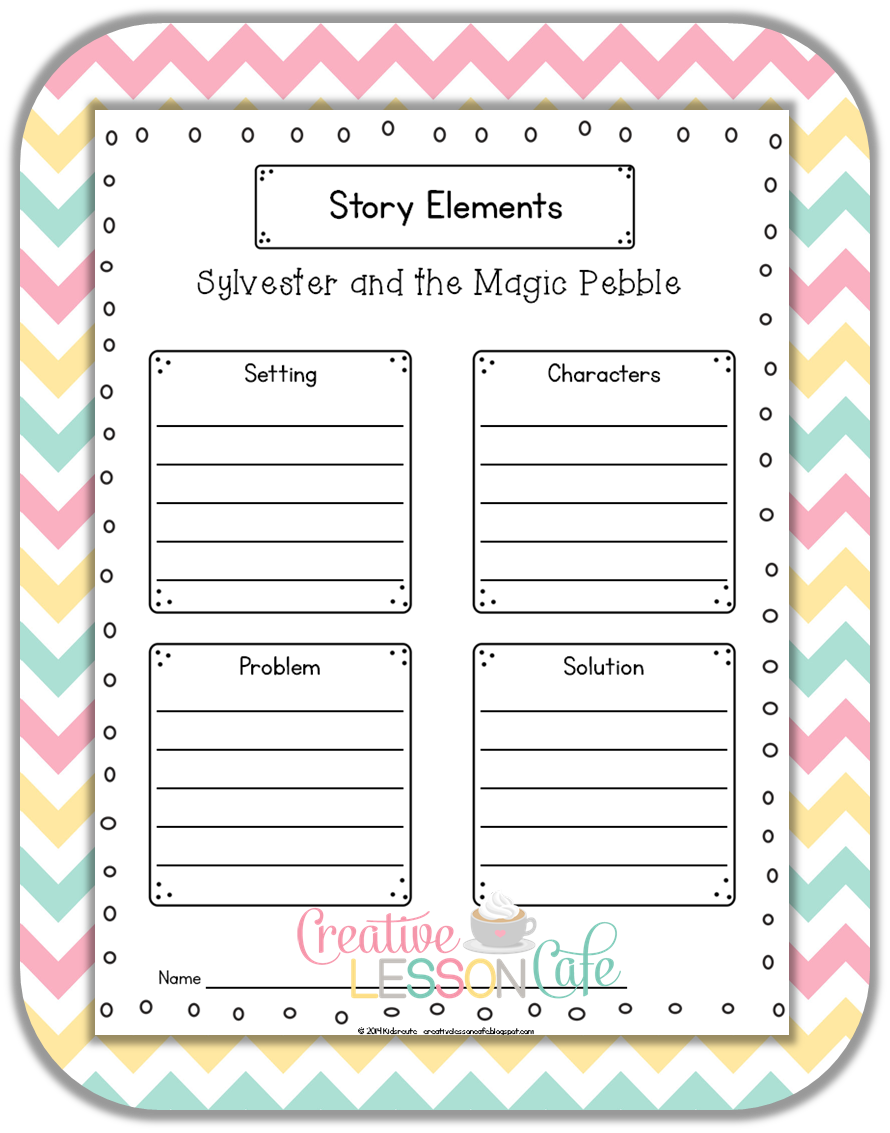 Printables Sylvester And The Magic Pebble Worksheets creative lesson cafe freebies for sylvester and the magic pebble but we will do some writing summarizing with these pages