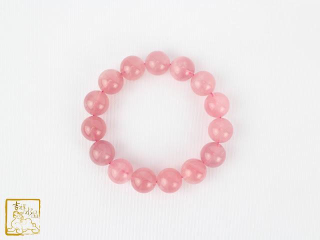 粉水晶招桃花