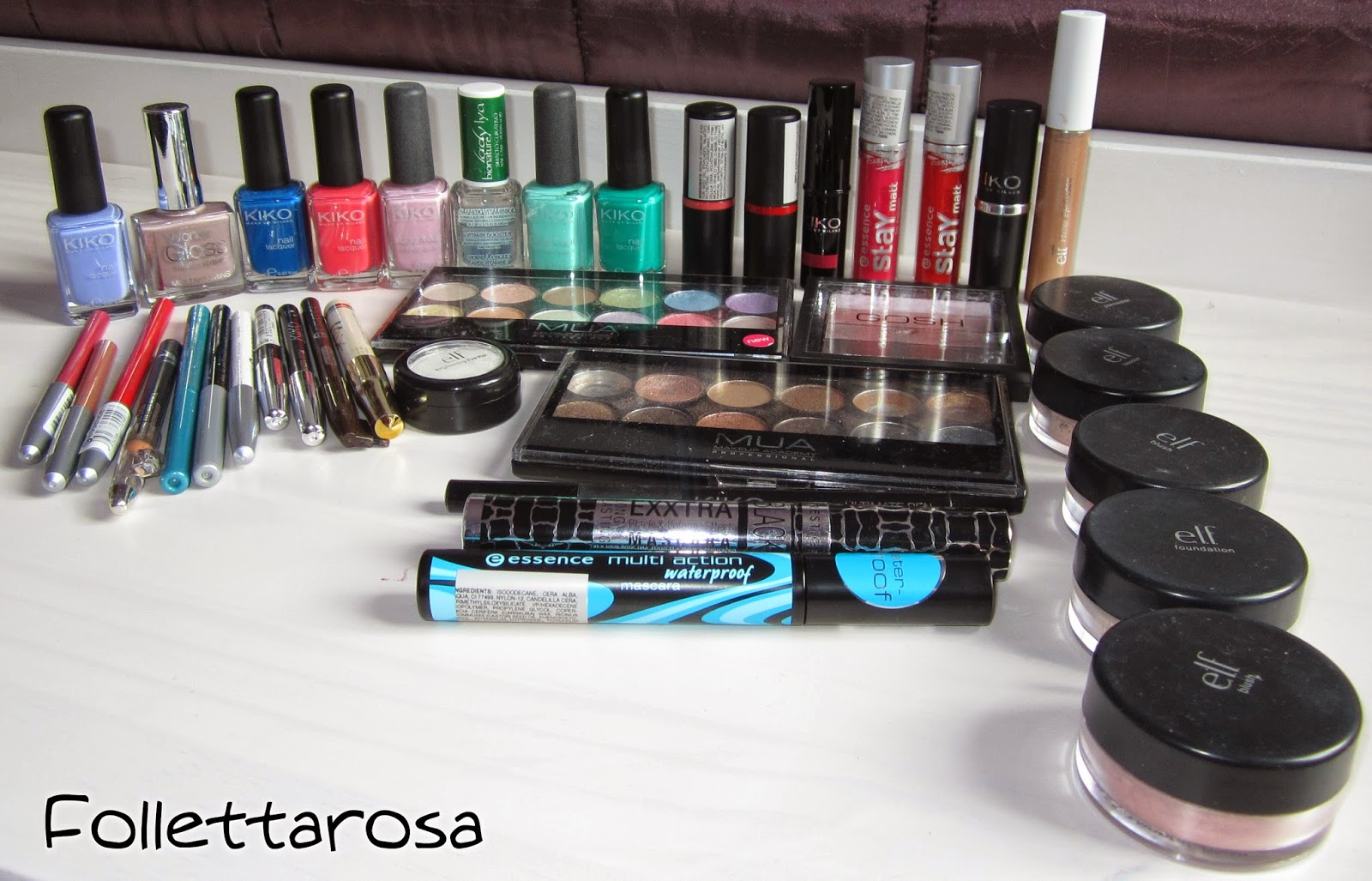 cosmetici beauty case da viaggio