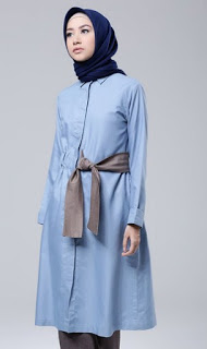 Model busana muslim tunik trendy