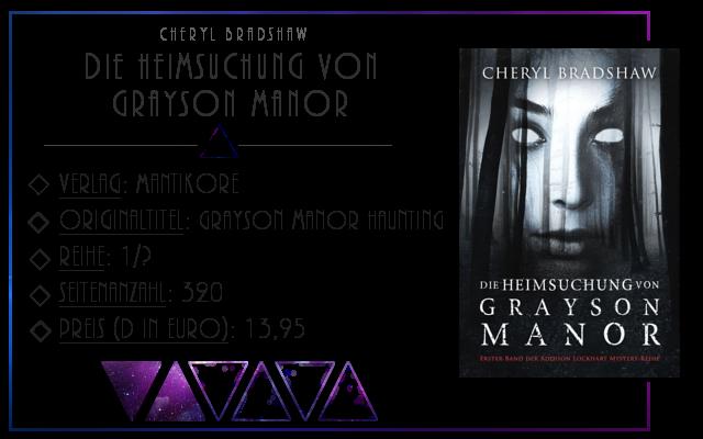 [Rezension] Die Heimsuchung von Grayson Manor - Cheryl Bradshaw