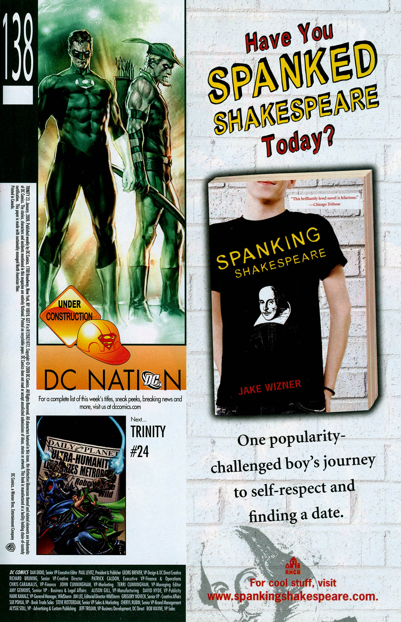 Read online Trinity (2008) comic -  Issue #23 - 28