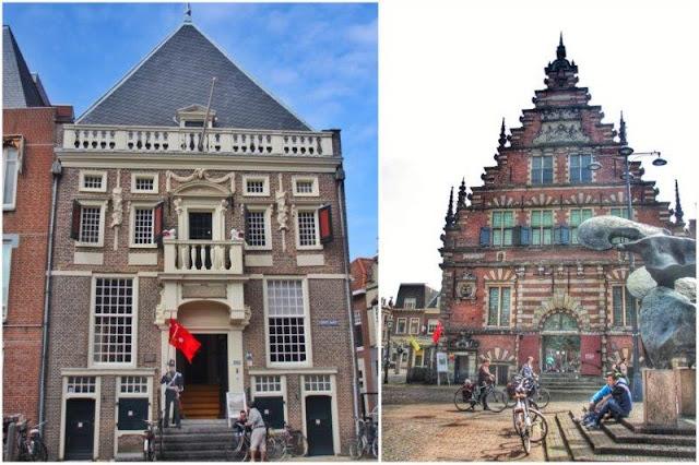 Antigua prisión Hoofdwatcht, Vleeshal o Mercado de la Carne en Grote Markt de Haarlem