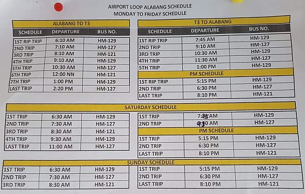 Backpacking Philippines Airport Loop Bus Starmall