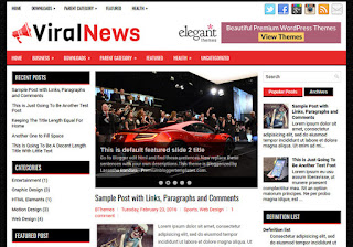 ViralNews Blog Blogger Template