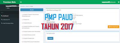 Cara Mengisi PMP PAUD TK Tahun 2017