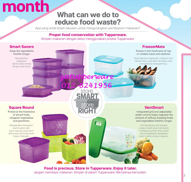 Tupperware Mini Catalogue 1st - 31st August 2016