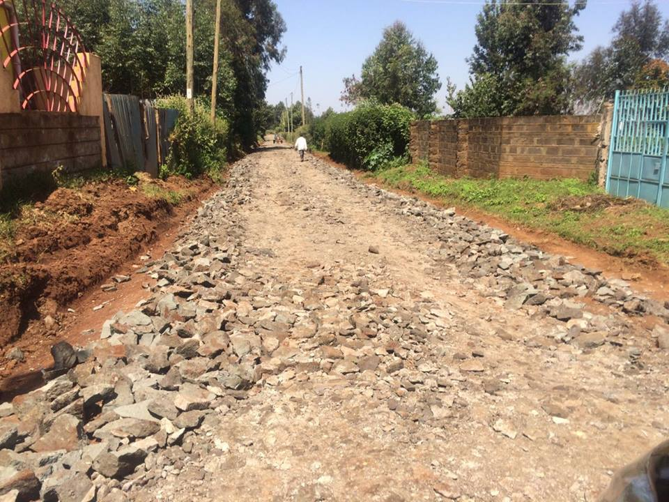 Focus on kiambu road infrastructural developments thika town today the rehabilitation of the 12km tharuni feeder road in limuru central ward limuru sub county sciox Choice Image