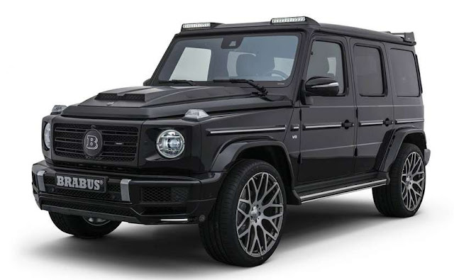 Brabus Enhances The Mercedes G-Class With New Performance Kit