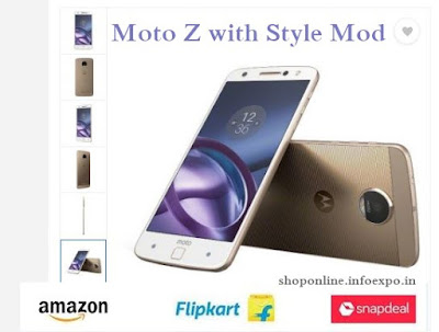 Buy the latest Motorola  Moto Z with Style Mod online India. Latest Amazon Offers on Motorola Moto Z and its MOD Devices.