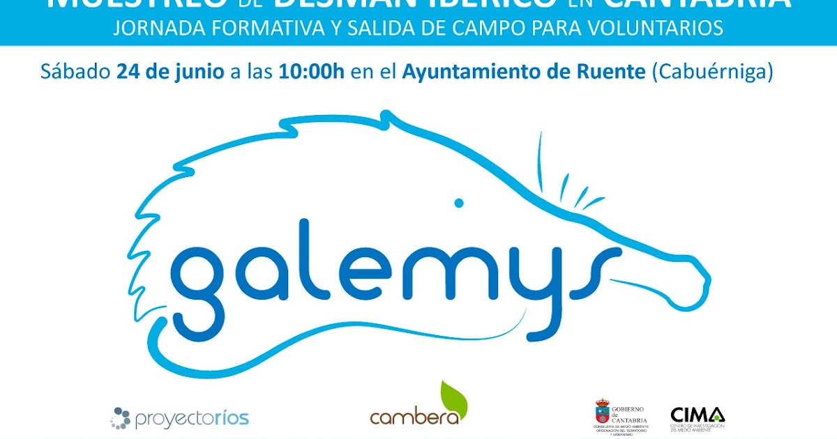 01e970095236 La Red Cambera lanza el Proyecto Galemys