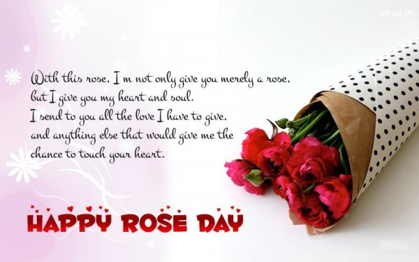 Happy Rose Day Greetings HD 2018