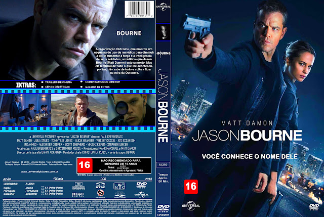 Capa DVD Jason Bourne