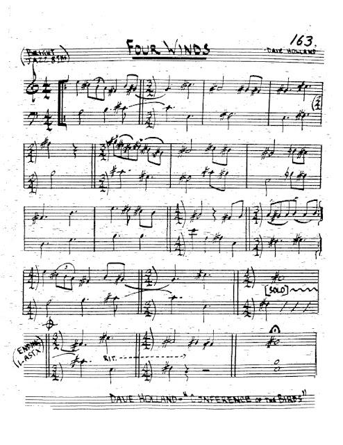 Partitura Trompeta Dave Holland