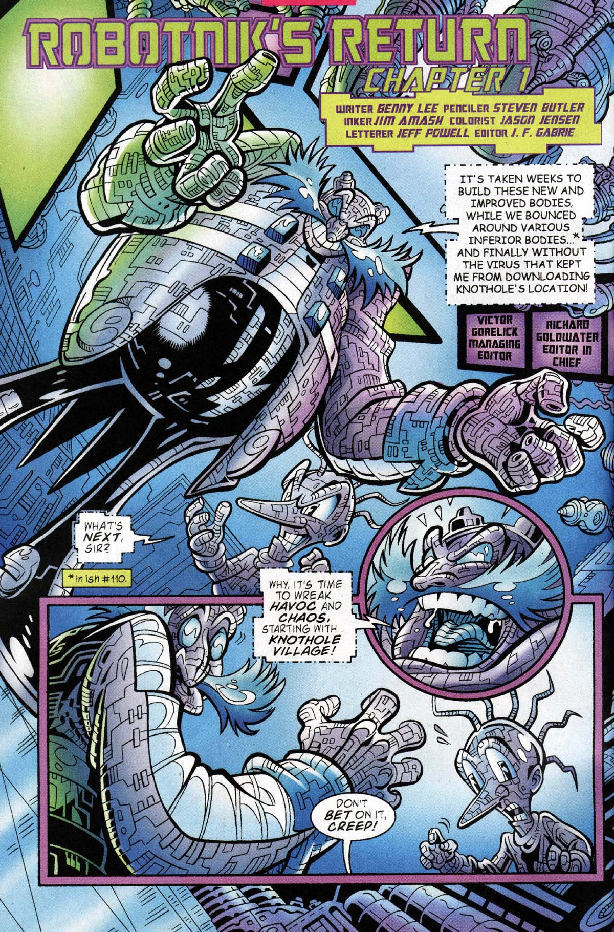 Read online Sonic The Hedgehog comic -  Issue #118 - 3