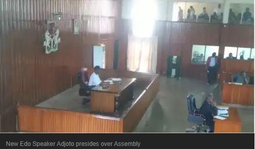 Edo new speaker Adjoto