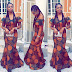 Check Out Ankara Long Gown Styles 2016 : Simple Style