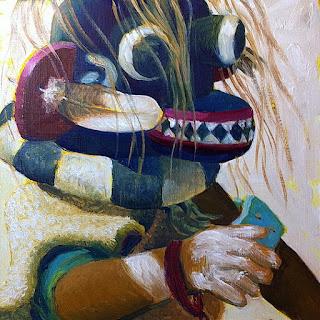 rappresentazione artistica del Chaveyo realizzata da John Farnsworth