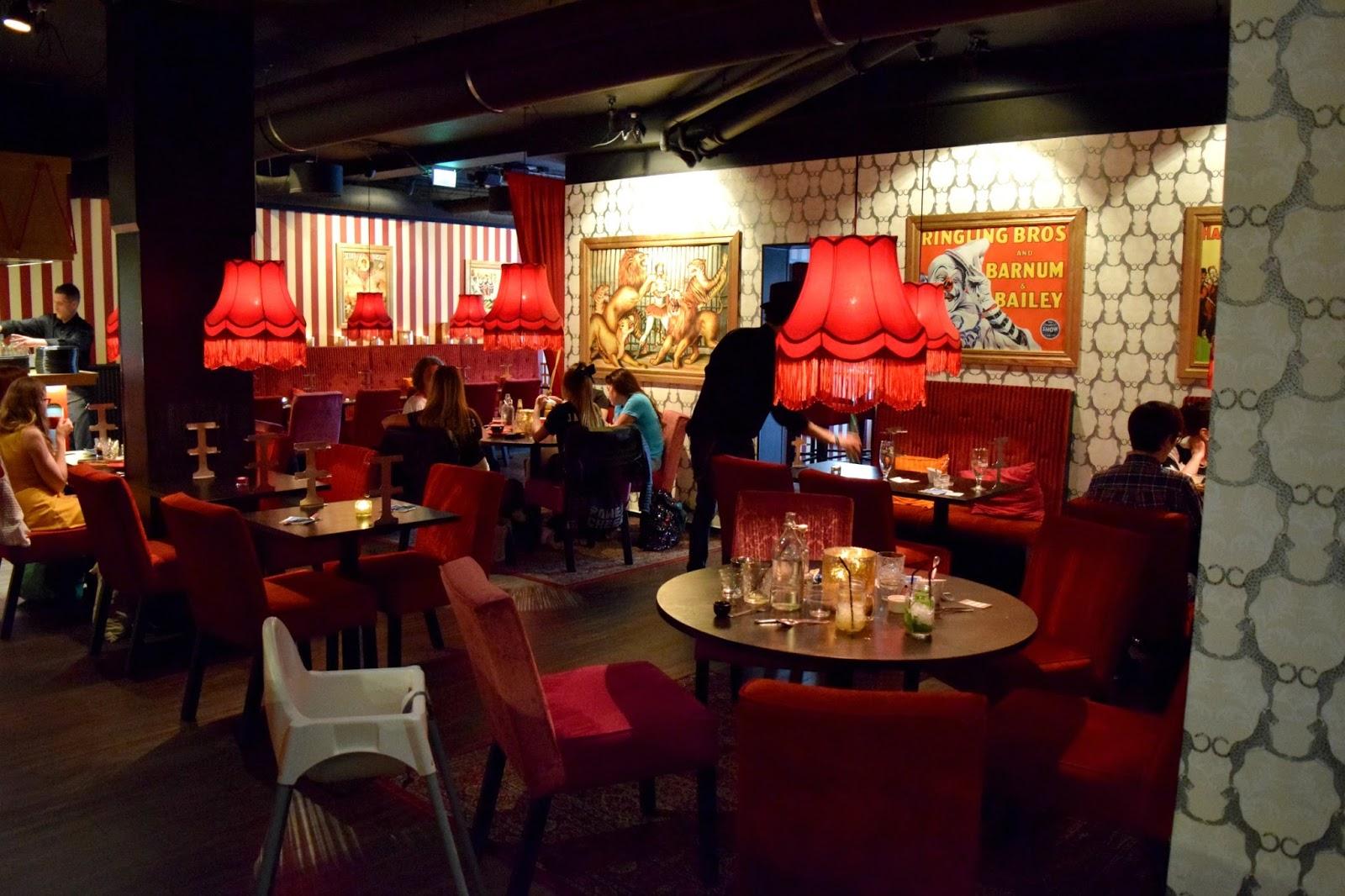Inside Pinchos Restaurant Sweden