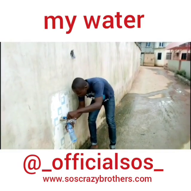 MY WATER  SOSCRAZYBROTHERS