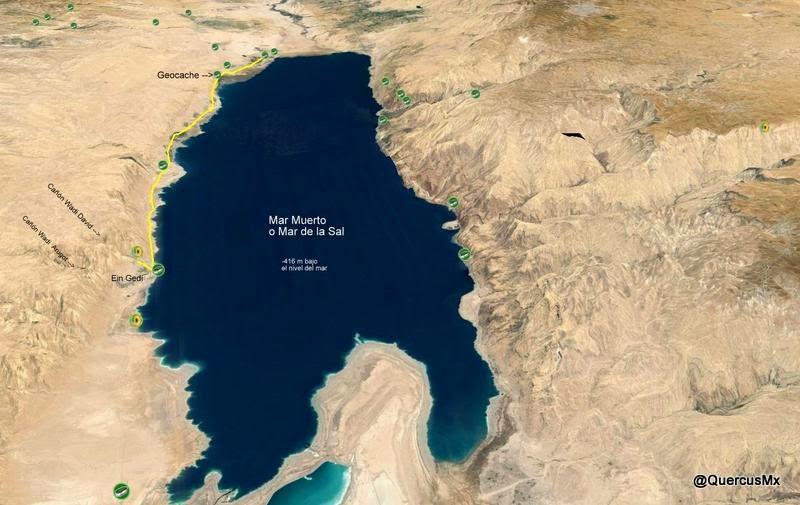 Costa del Mar Muerto - Geocaching