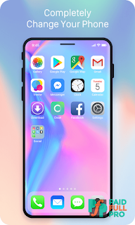 X Launcher Prime Phone X Theme OS11 Control Center latest apk download