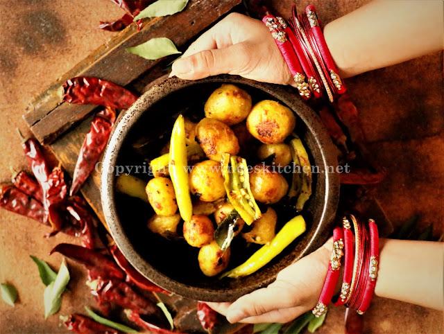 Bhajji Milagai & Baby Potato Fry