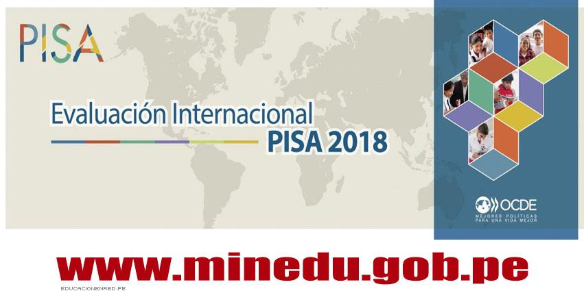 PISA 2108: Desde hoy martes 14 de agosto hasta el 30 de setiembre, estudiantes de escuelas públicas y privadas de todas el país, participarán en el Programa para la Evaluación Internacional de Estudiantes