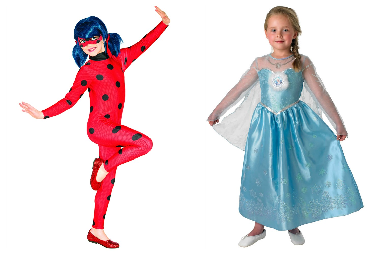 Disfraces frozen y ladybug