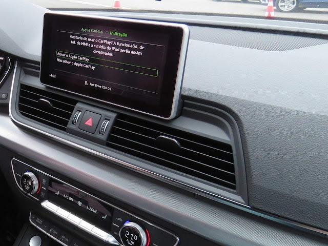 Novo Audi Q5 2018 - sistema MMI Plus
