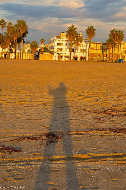 """""""Overshadow"""" by Omar Cherif - Venice Beach, California, 2015"""