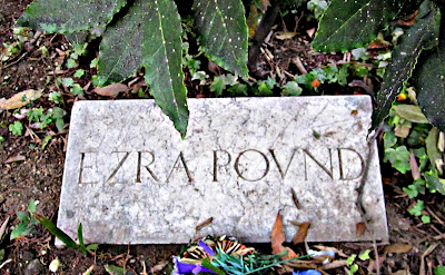 Ezra Pound grave - Venice, Italy - Photo by Cat Bauer - Venice Blog