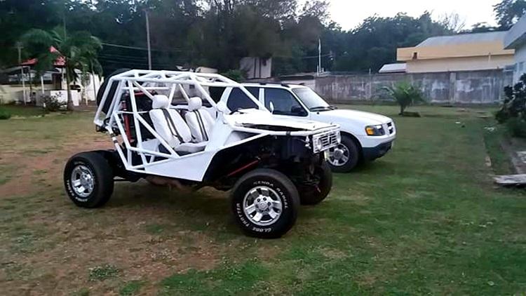 Nigerian Man Builds A Mini Jeep, Calls it Crazy Camel