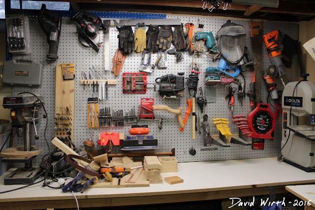 first order reliability, tools on wall