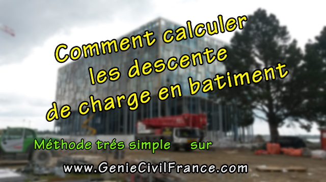 Calcul descente de charge batiment pdf