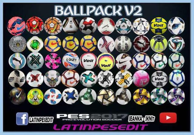 New Ballpack Season 2017-18 PES 2017