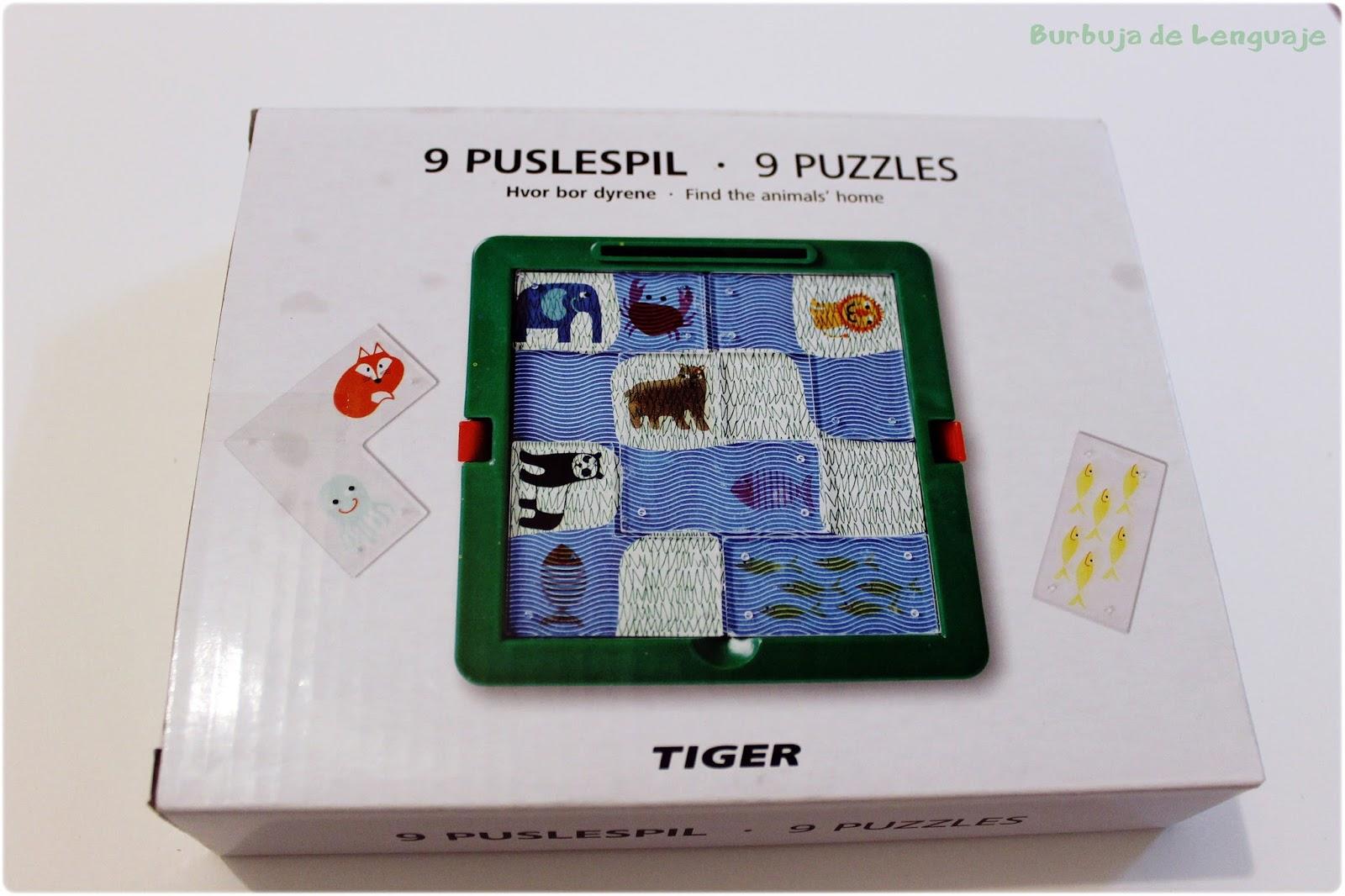 Burbuja De Lenguaje Juegos Tiger