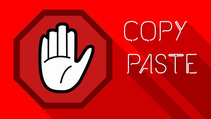 Cara membuat Postingan Blog Tidak bisa di COPAS