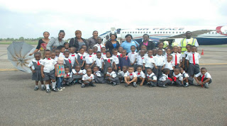 Samville Pupils Excursion To Airport
