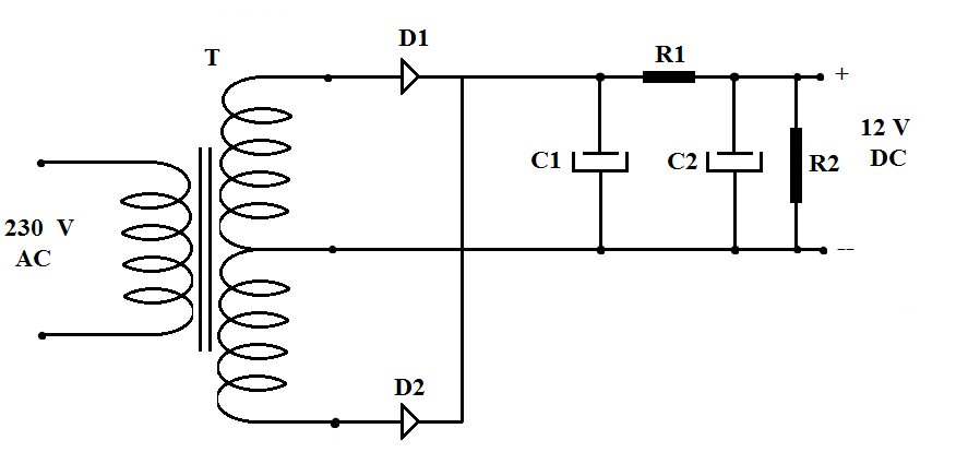 Pretty Full Wave Rectifier Circuit Diagram Images Gallery -- What Is on cathodic protection rectifier diagram, ford external voltage regulator diagram, selenium rectifier diagram, polaris scrambler 500 rectifier diagram, suzuki motorcycle rectifier diagram, 4 wire regulator diagram, rectifier circuit diagram,