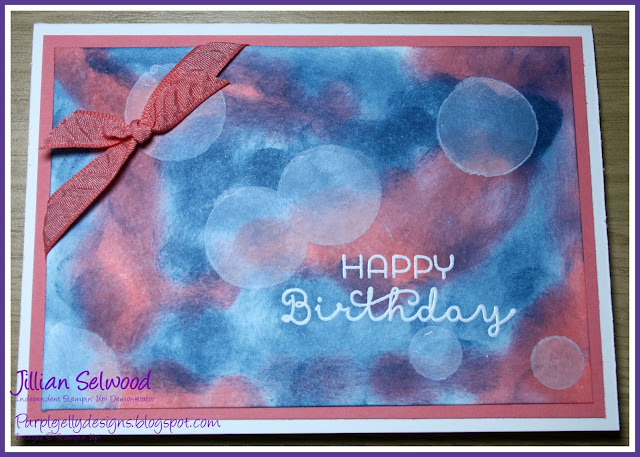 Jillian Selwood, Purple Jelly Designs, Independent Stampin' Up! Demonstrator
