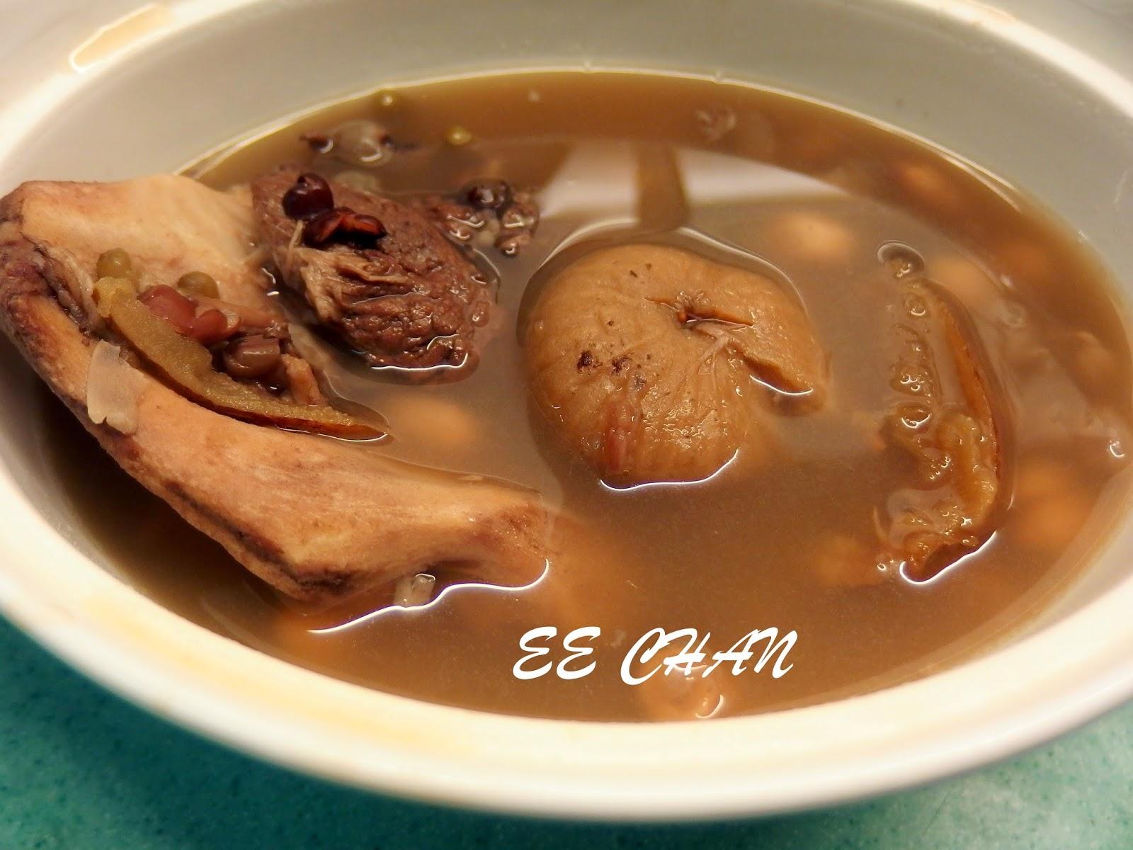 EE Blog: 鮑魚骨煲雜豆湯