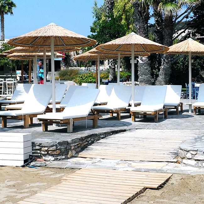 Faragas beach bar Paros island
