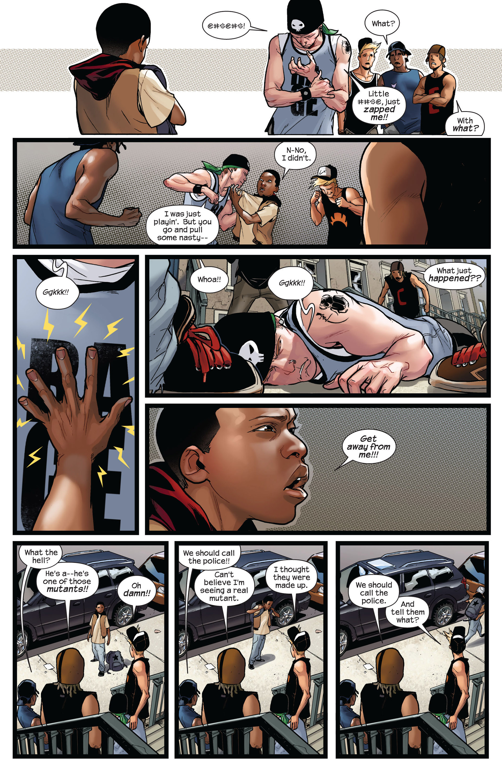 Read online Ultimate Comics Spider-Man (2011) comic -  Issue #2 - 6