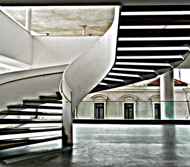 Escadaria do  MAR - Museu de Arte do Rio