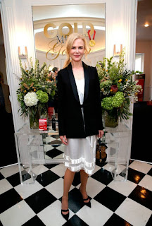 Nicole Kidman, Diane Kruger and Emma Watson lead the best-dressed on the pre-Golden Globes party circuit