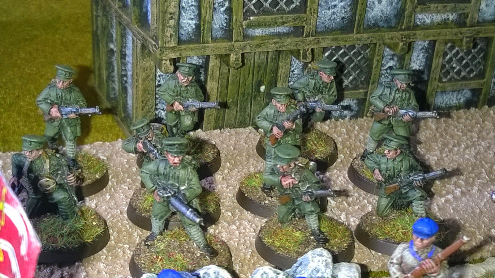 musketeer miniatures ww1 army vbcw
