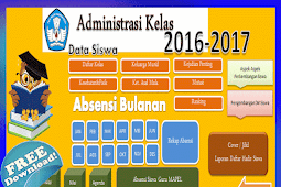 Aplikasi Olah Nilai Sekolah SD Otomatis New
